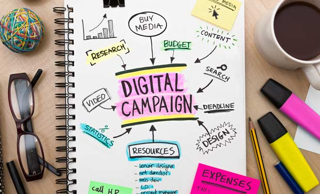 How do you create a successful digital campaign