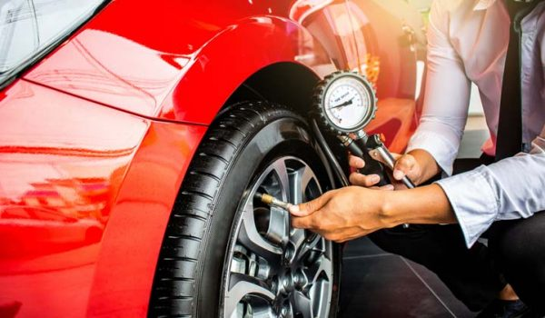 How To Check And Fill Tyre Pressure?