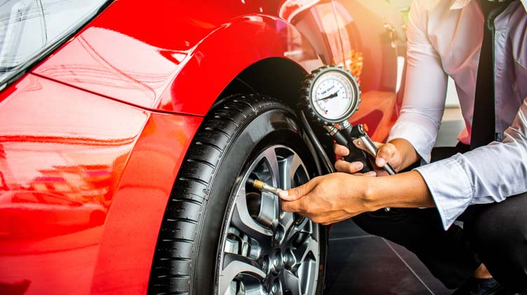How To Check And Fill Tyre Pressure