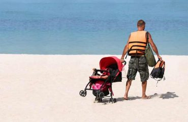 strollers for the beach